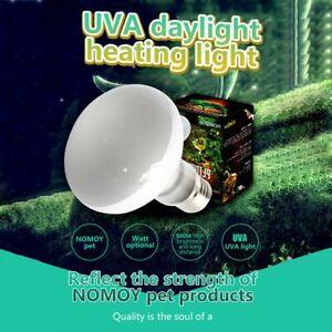 E27 Reptile Basking Light Heat Lamp Heater UVA/UVB Halogen 25/50/75/100W Bulb
