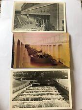 Vintage Bonneville Dam Photos- Generator, Fishladder