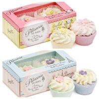 Patisserie De Bain Rose & Violet or Strawberry & lemon meringue Bath Fizzer Soak