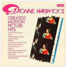 Dionne Warwick , Greatest Motion Picture Hits  Vinyl Record *USED*