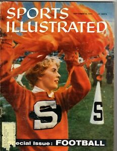 Sports Illustrated 9/19/60 College Football Cover, Excellent Condition