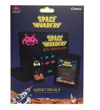Space Invaders Retro Arcade Gadget Decals Amovible Autocollants