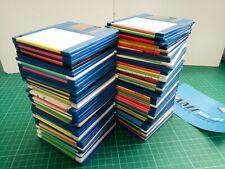 "100 x AMIGA  'FLOPPY DISKS ' - USED BOX of 100 Floppies! 3.5"" DSDD"