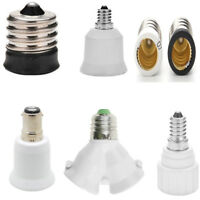 E17 E12 E14 to E12 E27 Socket Base CFL LED Lamp Light Bulb Adapter Converter ck8
