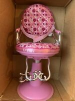 "AG02- 18"" Doll OG Hair Stylist Chair Battat Pink FITS American Girl"
