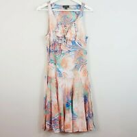 [ RALPH LAUREN ] Womens Print Dress | Size AU 10 or US 6