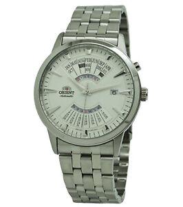 Orient Multi-Year Calendar FEU0A003WH Stainless Steel Men's Watch