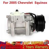 For Chevrolet Equinox V6 2005 3.4L Air Conditioner Compressor & Clutch CO 21193A