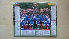 CALENDRIER ALMANACH POSTE PTT 2002 FFF CHAMPION DU MONDE 1998 FOOTBALL LOZERE