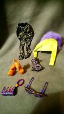 MONSTER HIGH ACCESORIO: OUTFIT de MUÑECA CLAWDEEN WOLF del FASHION PACK