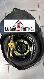 RUOTINO DI SCORTA  PEUGEOT 208 ORIGINALE(FINO A 2021) +CRIC OMAGGIO+CHIAVE+SACCA