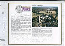 DOCUMENT CEF PREMIER JOUR  1978  TIMBRE   N° 1999 ABBAYE NOTRE DAME DU BEC