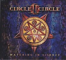 Circle II Circle-Watching In Silence book and cd Album