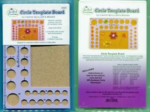 Quilled Creations Quilling Work Board 38 Hole Circle Template Board w/instruct