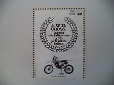 advertising Pubblicità 1980 MOTO TGM 125