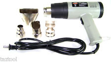 Heat Gun wIith Accessories Shrink Wrapping 1500 Watt Dual Temperature