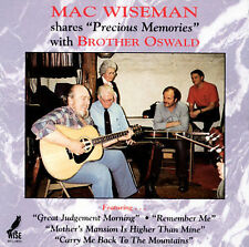 Precious Memories by Mac Wiseman (CD, Dec-2001, Music Mill)