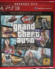 Grand Theft Auto IV: Episodes from Liberty City (Greatest Hits)  (PS3)   Sealed