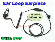 Ear Loop  Earpiece with PTT for Wouxun KG-UVD1P Puxing Px-777 Baofeng UV-5R E13K