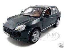 PORSCHE CAYENNE TURBO GREEN 1:18 DIECAST MODEL CAR BY MAISTO 31634