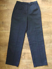 New Womens Appleseeds Navy Blue Casual Pants Size 8 NWT
