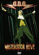 DVD U. D.O.Mastercutor Alive 2DVDs