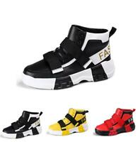 Mens Fashion Sport Running High Top Breathable Athletic Street Hip-hop Shoes New
