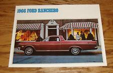 Original 1966 Ford Ranchero Sales Brochure 66