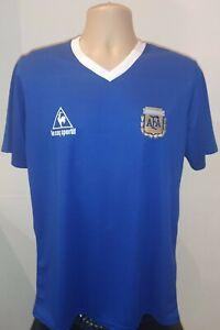 Retro Argentina Away Shirt Maradona Napoli Jersey Messi 1978 1986 2020 Size M