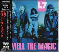 L7 Smell The Magic JAPAN CD with OBI WPCR-10016
