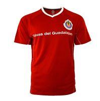Chivas de Guadalajara Soccer Jersey Training rayadas mexico limited edition Red
