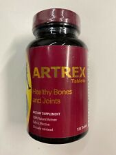 ARTREX Joint Support 120ct Tablets By Bioved Pharmaceuticals, Inc. Exp 1/2022