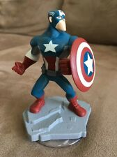 Captain America  - Disney Infinity Loose Figurine! Wii U Xbox PlayStation 3 4
