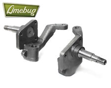 """VW Classic Beetle 1950-65 Link Pin Drum Brake Dropped Spindles 2.5"""" T1 Lowered"""