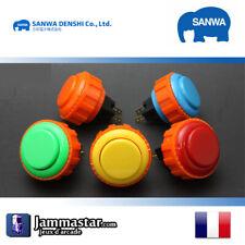 x1 x5 x8 Boutons arcades originaux Sanwa Denshi OBSN-24 - Genuine Sanwa
