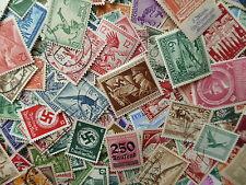 Deutsches Reich - Sammlungsauflösung  Lot  Konvolut  Briefmarken Papierfrei