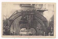 le creusot , usines schneider , marteau pilon