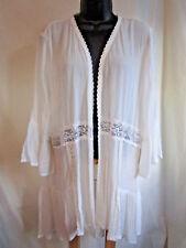 Plus Size 3X LACE Top Cover-Up Jacket Evening Shrug Wedding Shawl Cruise NWT