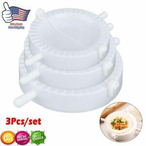 3Pcs/set Dumpling Maker Mold Dough Press Meat Pie Pastry Empanada DIY Mould Tool