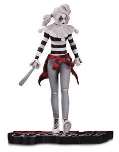 Dc Comics Rosso, Bianco & Black Statuetta Harley Quinn By Steve Pugh Collezione