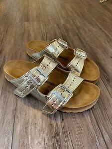 Rick Owens Birkenstock Tan Casual Sandal Shoes Size US 9 / EU 42