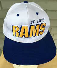 St. Louis Rams VTG Head To Toe Snapback NFL Baseball Cap Hat