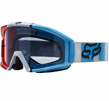 Fox Main Motocross Mx Gafas Falcon Gris/Rojo/Azul Tear-Off Enduro MTB