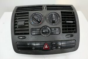 MERCEDES-BENZ VITO W639 HEATER CONTROL PANEL WITH AIR VENTS