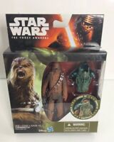 """NEW Star Wars The Force Awakens 3.75"""" Figure Armor Up Series *CHEWBACCA* wookiee"""