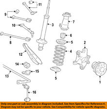 Lexus TOYOTA OEM 07-11 GS350 Rear-Shock Absorber or Strut 4853080341