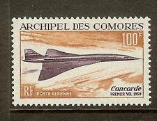 Comoro islands, Scott #C29, 100fr Concorde Issue, MLH