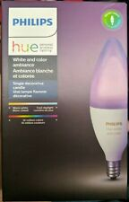 Philips Hue White And Color Decorative Candle 40w Dimmable Smart Bulb