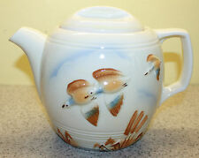 Porcelier Vitreous Hand Dec. China Tea Pot - Duck Design