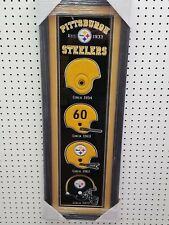 Pittsburgh Steeler Embroidered Mascot Circa / Emblems 1933,1954,1960,1962,1977